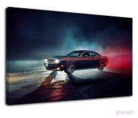 Shelby Mustang Iconic American Sports Muscle Car Canvas Wall Art Picture Print