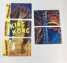 Lot Of 5 Nynex Change Cards Telecard 1994 1995 Phone Cards Mint (7174)