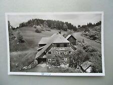 Ansichtskarte Urberg St. Blasien Schwarzwald 1953 Rasthaus Alpenblick (2)