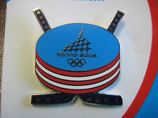 Torino 2006 Olympic Pin - Hockey Cross Sticks