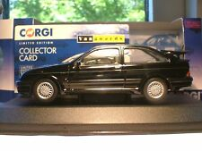 WOW SUPERB NEW BLACK VANGUARDS 1/43 1987 FORD SIERRA RS 500 COSWORTH 3-DOOR NLA