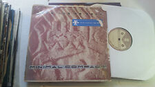 "Minimal Compact Next One Is Real 12"" EP '84 WAX 008 Industrial 1st Vinyl 5 track"