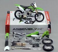 Maisto 1:12 Kawasaki KX 450F Assemble DIY Motorcycle Bike Model Toy New In Box