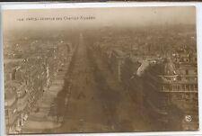 CP 75 Paris - L'Avenue des Champs-Elysées