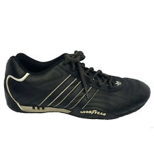 Adidas Racing Team Goodyear Soles Driving Shoes Men's Size 8 Black