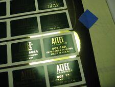 "ALTEC 808-16A Horn Loudspeaker Driver  ""DECAL"" New!"