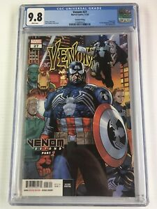 Venom #27 (CGC 9.8) 2nd print Variant Combine Shipping Multiple Lots