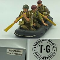 Thomas Gunn Miniatures PARA001A The Crossing Painted Diecast Metal Figures Set