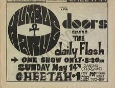 The Doors Cheetah Original Concert Ad 1967