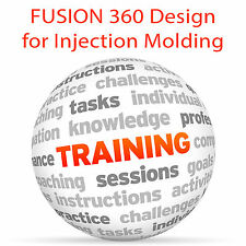 FUSION 360 Design for Injection Molding - Video Training Tutorial DVD