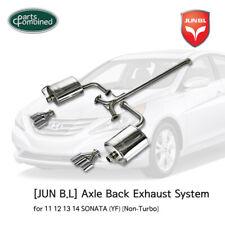 AXLE-BACK EXHAUST for 11 12 13 14 SONATA (YF) [Non-Turbo][JUN B.L]
