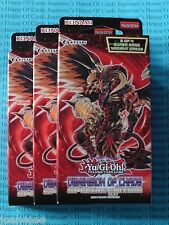 Yu-gi-oh 3 x Dimension of Chaos Special Editions English NEW BNIB