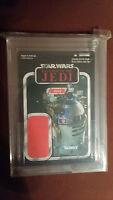 "Star Wars UNPUNCHED ""Revenge of the Jedi"" Vintage Coll R2-D2 Proof Card AFA 9.75"