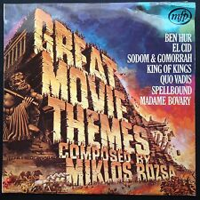 Miklos Rozsa Carlo Savina GREAT MOVIE THEMES LP 1963 El Cid Ben Hur Quo Vadis UK