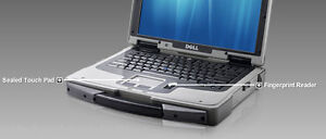 Dell ATG XTG D630 Core 2 Duo Rugged Laptop 3gb 128SSD Win Xp Pro SP3 DVDRW Wi-Fi