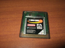 F-1 World Grand Prix Formel 1 Formula Gameboy Color GBC