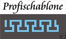 Schablone, Wandschablone, Stencils, Stupfschablone, Malerschablone, Mäander 1