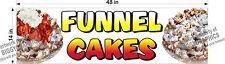 """14"""" x 48""""  VINYL BANNER FUNNEL CAKES"""