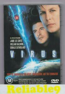 Jamie Lee Curtis - Virus DVD+Special features Region 4- 1998 Universal Australia