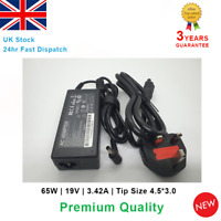 Laptop AC Power Adapter Charger for Asus PU301L PU301LA PU301 65W 19V 3.42A