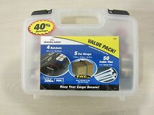 HIGHLAND CARGO VALUE PACK, 11678, RATCHETS/FAT STRAPS/CABLE TIES, FREE S&H