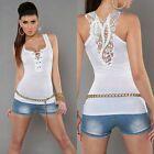 Verano Camiseta De Mujer Camiseta de tirantes Cuello En V Camisetas Camisola