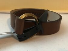 7297d3830d3 (NWT) Style Co Women s Brown or Black Woven Double-Ring Pullback Belt ...