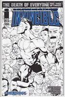 Invincible #100 Comixology Variant Ryan Ottley B&W Sketch