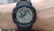Casio VINTAGE COLLECTION ABX 53U TWINCEPT NOS FLOATING LCD WATCH MONTRE JAPAN C