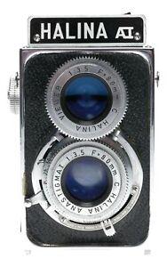 Haking Halina A1 120 Film 6x6 Camera 1:3.8 80mm