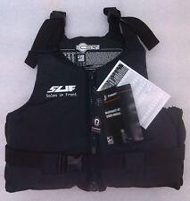 NEW Buoyancy Aid CREWSAVER XXL over 90kg. Jet Ski Windsurf Water Ski Black/Grey