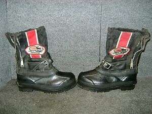 VINTAGE YAMAHA SNOWMOBILE BOOTS SIZE 7 SRX GPX EXCITER ENTICER GP NEVER WORN