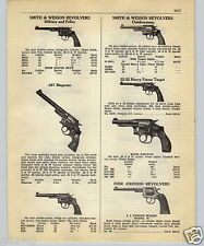 1952 PAPER AD Ruger Automatic Pistol Smith & Wesson .357 Magnum High Standard