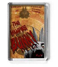 GEORDIE 7x4.5cm fridge magnet NEWCASTLE UPON TYNE Vampire Bunny ST. NICHOLAS'