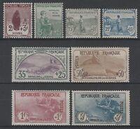 """FRANCE YVERT 148 /155 """" SERIE ORPHELINS 1917 """" NEUFS xx LUXE VALEUR:+9150€ K551"""