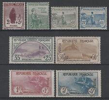 "FRANCE Y&T 148 /155 "" SERIE ORPHELINS 1917-1918"" NEUFS xx TTB VALEUR:+9000€ K551"