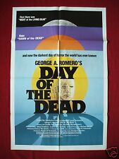 DAY OF THE DEAD * 1985 ORIGINAL MOVIE POSTER 1SH DAWN OF THE DEAD HALLOWEEN NM-M