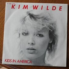 Kim Wilde, kids in America / tuning in tuning on, SP - 45 tours France