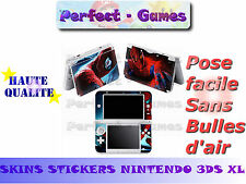 Skin sticker auto-collant vinyl  spiderman n°2 pour console nintendo 3DS XL LL