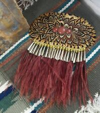 Feathered Hair Barrette