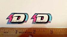 OLD SCHOOL BMX DYNO STICKERS DECAL NOS ON CHROME