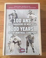 2008-09 Centennial Montreal Canadiens Upper Deck Wooden Box Sealed Hockey