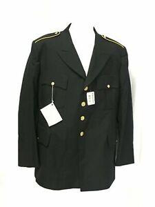US ARMY MEN'S 44L MILITARY SERVICE DRESS BLUE BLUES ASU UNIFORM COAT JACKET NEW