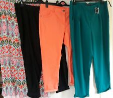 BUNDLE X 4 size 18 MAXI SKIRT & 3 PAIRS OF TROUSERS NEXT GEORGE PRIMARK FREE P&P