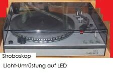 Telefunken S 500 / S 600 Plattenspieler Stroboskoplicht Umrüstset auf LED