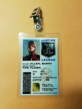 Justice League Id Badge - Barry Allen The Flash Cosplay prop costume