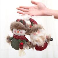 Christmas ornaments cute welcome santa snowman xmas door hanging decoration NEW