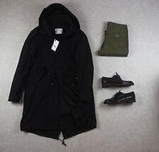 MHL Margaret Howell - Fishtail Parka Coat - Black - Small - Brand New
