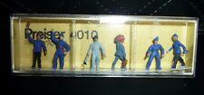 Preiser, Vintage, New Package, Item# 4010 Ho scale, Railway Workmen, 6x