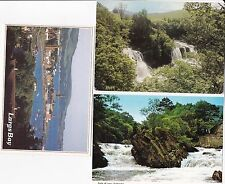 Topographical Postcards from Scotland (Three cards)